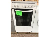 STATEMANS 50CM SOLID TOP ELECTRIC COOKER