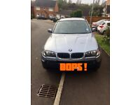 2004 (54) BMW X3 2.5| AUTOMATIC| PETROL| GREY LEATHER INTERIOR|