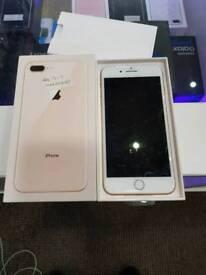 IPHONE 8 PLUS GOLD 64 GIG UNLOCKED