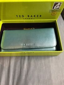 Blue Ted baker purse