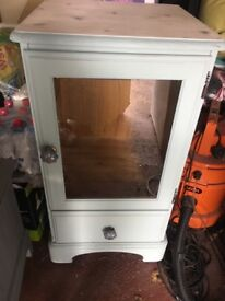 Shabby chic style drinks cabinet /side unit