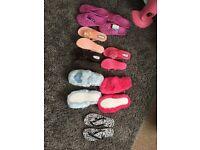 Woman sandles and slipper bundle unworn