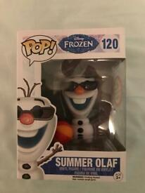 Funko pop vinyl summer Olaf figure