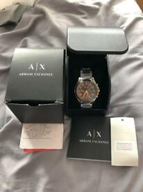 Brand new Two tone rose gold Armani watch