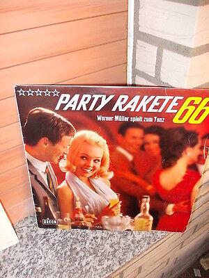 Party Rakete 66, Werner Müller spielt zum Tanz, eine Schallplatte