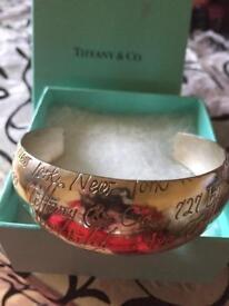 Tiffany & Co Bangle 925 hallmarked inside