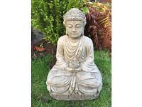 Stone garden Buddha, lovely detail. New