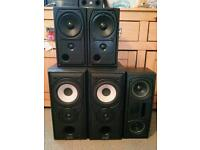 Mission 5.1 surround sound speakers