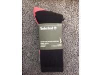 New! 3 pack of Timberland outdoor socks UK 5/6