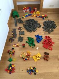 HUGE Lego Duplo train / mixed bundle