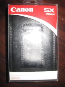Canon Power Shot SX210 IS Digital Camera Case. Custom Fitted Design. Leather. Snap Button. NEW