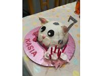 "Birthday cake ""ALL HAND MADE"""
