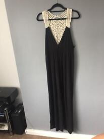 New Look Black Maxi Dress Size 18