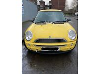 Mini Cooper R50, W10B16 Engine- BREAKING FOR PARTS