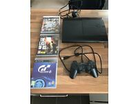 PlayStation 3 500gb super slim version