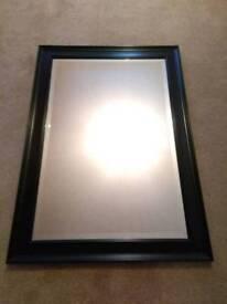 Dunelm Black Framed Mirror