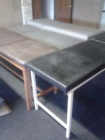 Vintage massage tables