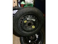 BMW 15 INCH SPACE SAVER WHEEL FOR SALE