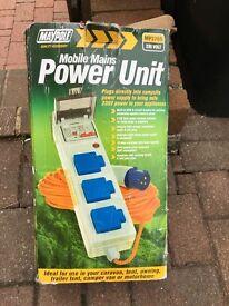 Maypole MP3765 Mobile mains power unit 230 volt 10amp
