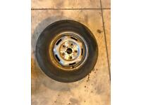 Space wheel for a ford transit van