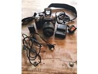 EOS Cannon 300D + 18-55mm lens