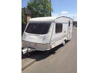 Elddis Elusion 1995 2 berth caravan for sale with extras