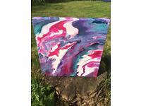 Fluid and resin art
