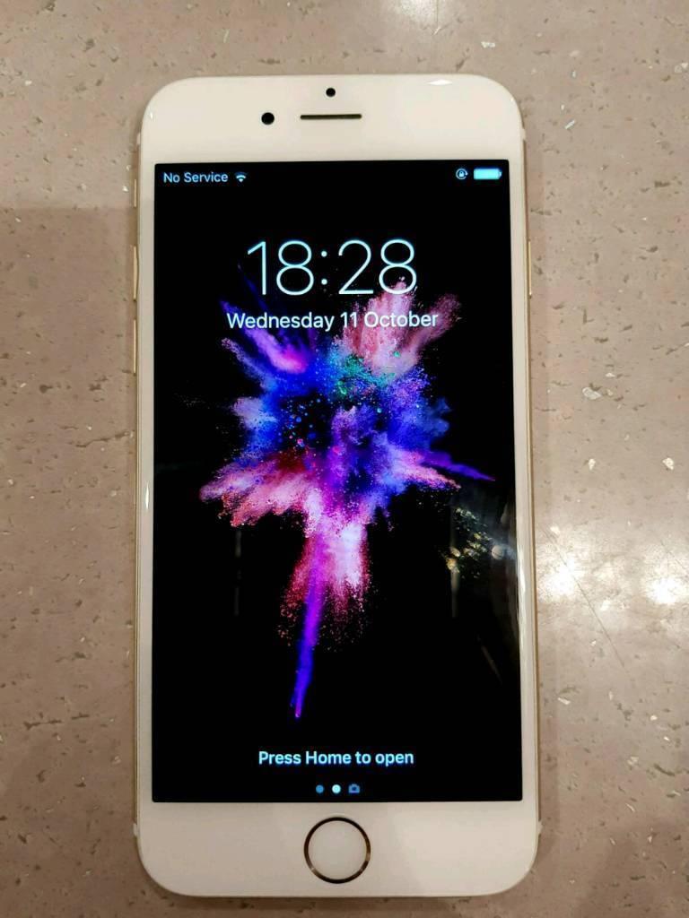 iPhone 6 Gold 6GB Unlocked