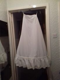 Ladies underskirts hooped