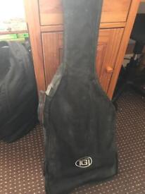 Classical guitar + Electric guitar + case