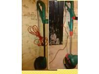 2 x Bosch ART26 Strimmers