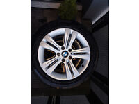 """BMW Alloy Wheels 17"""" with tyres 225/50/17"""