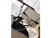Stunning Gucci GG supreme Dionysus bag