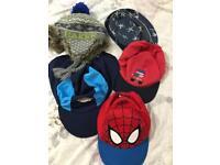 Boys 3-6 hats bundle