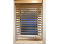 Wooden blinds vernishion vgc smoke free home