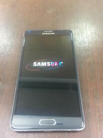 Samsung galaxy note 4 used . 32 Gb memory