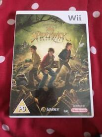The spiderwick chronicles Wii game