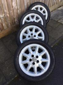 VW Golf GTI MK3 Alloy Wheels & Tyres