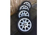 VW Golf GTI MK3 Alloy Wheels & Tyres