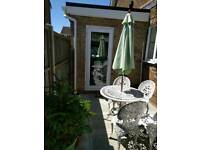 room within family home in felpham. Own shower room and toilet. Sat tv wifi. Private patio area.