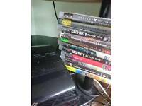 Super slim 500gb ps3 with 21 games
