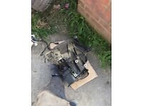 2003 Ford Focus 1.6 16v zetec engine and gearbox