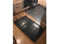 Double door pet cage extra large (huge)