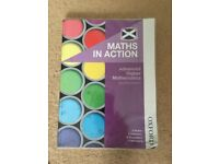 Maths in Action Advanced Higher Maths Book