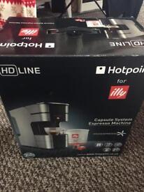 Hotpoint Illy capsule system espresso machine