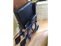 Blue tree wheelchair