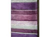 Lovely heather colours rug