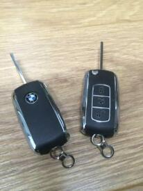 BMW BENTLEY KEY CUT & PROGRAMMED/ MODELS E46 E39 E83 E53 X5 Z4 E36 E38 320 CI ESTATE 330CI 320CD M