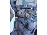 Ergo 360 baby carrier with newborn insert