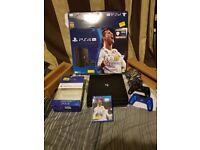 PlayStation 4 pro 1TB FIFA 18 BUNDLE PLUS EXTRAS